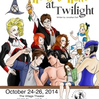 "Theater poster for a youth production of ""Harry's Hotter at Twilight,"" a parody play. (Digital, June 2014)"