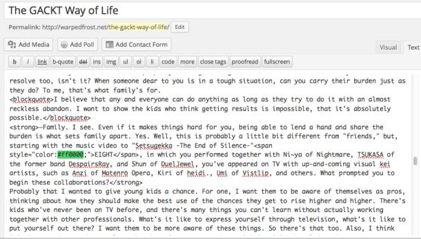 HTML version of Visual Draft