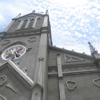 Sakitsu Church in Amakusa (July 2013)