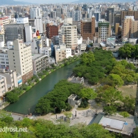 A view of Fukuoka City from atop the ACROS Building that I took in May of 2010, eight years after GACKT's Live House Tour stopped there.
