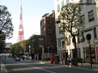 American cars stick out as much as their human counterparts, even in Tokyo (December 2009)