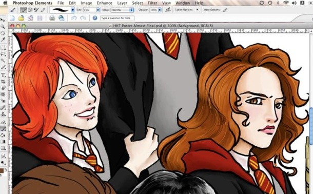 I'm rather proud of how Hermione turned out.