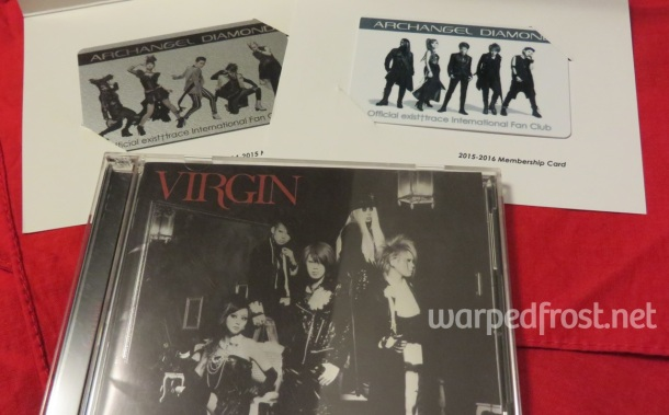 I was lucky to get my hands on a first pressing copy of VIRGIN while I was in Japan.