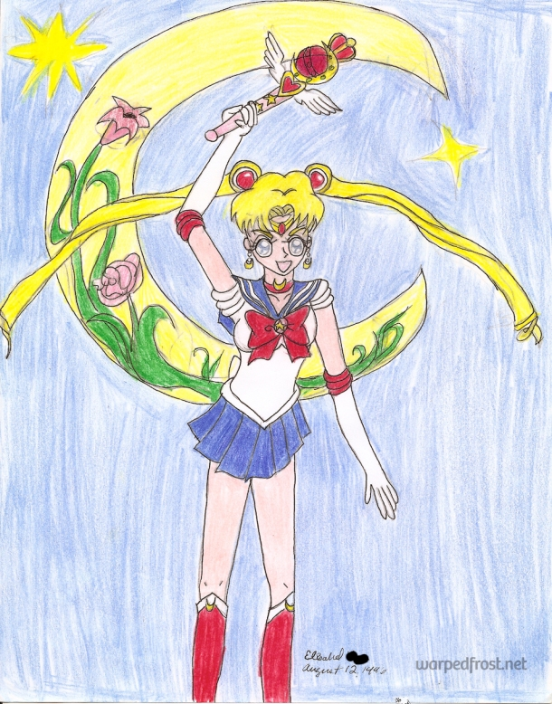 """In the name of the Moon, I WILL PUNISH YOU!"""