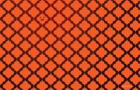 Pumpkin Spice Quatrefoil